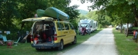 emplacement camping car Pont du Navoy
